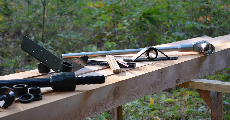 Baumhausschrauben und professionelles Zubehör kaufen bei The Treehouse Shop