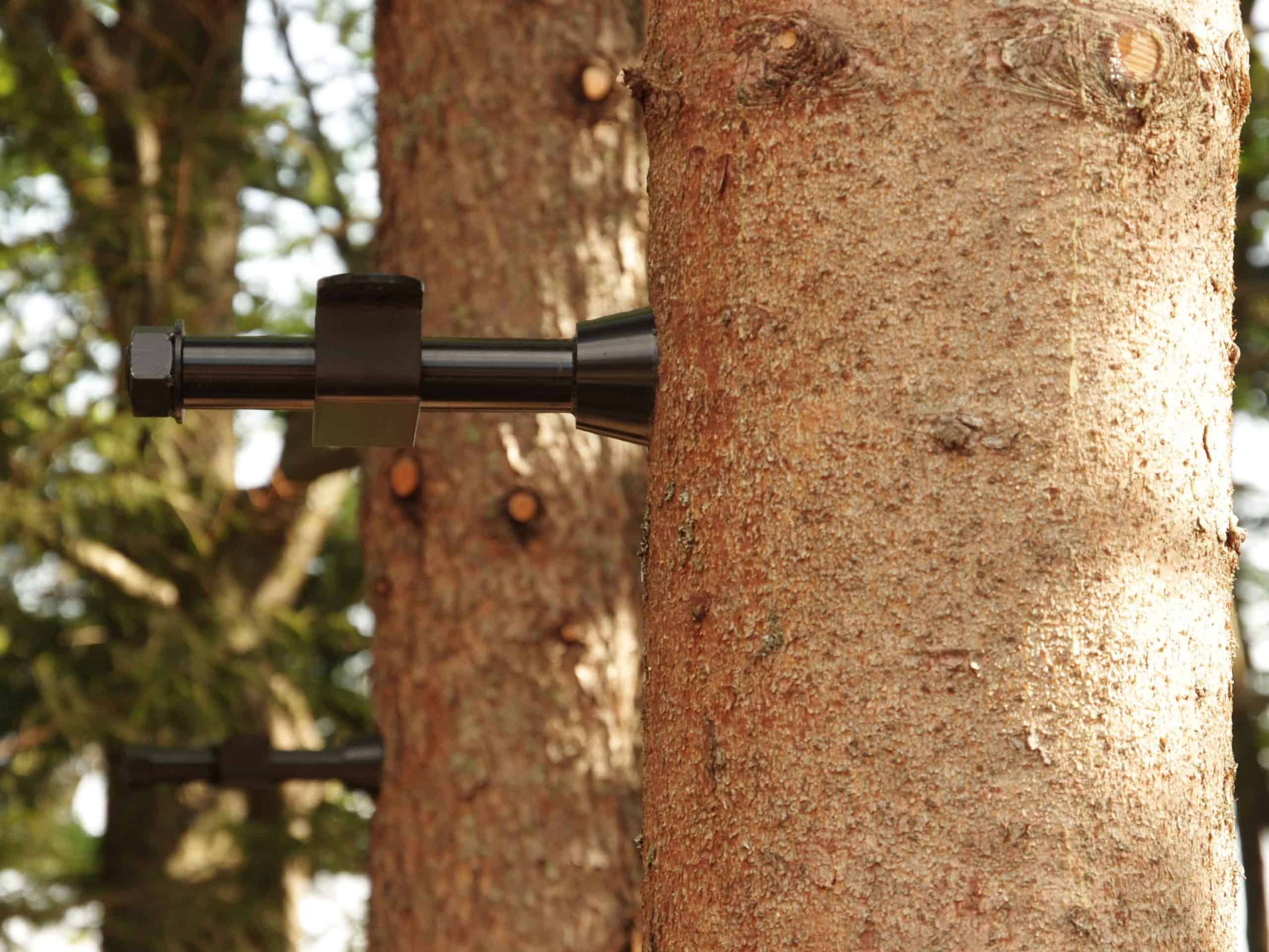 German Treehouse Screw GTS Allstar - professional attachment for mounting platform in living tree