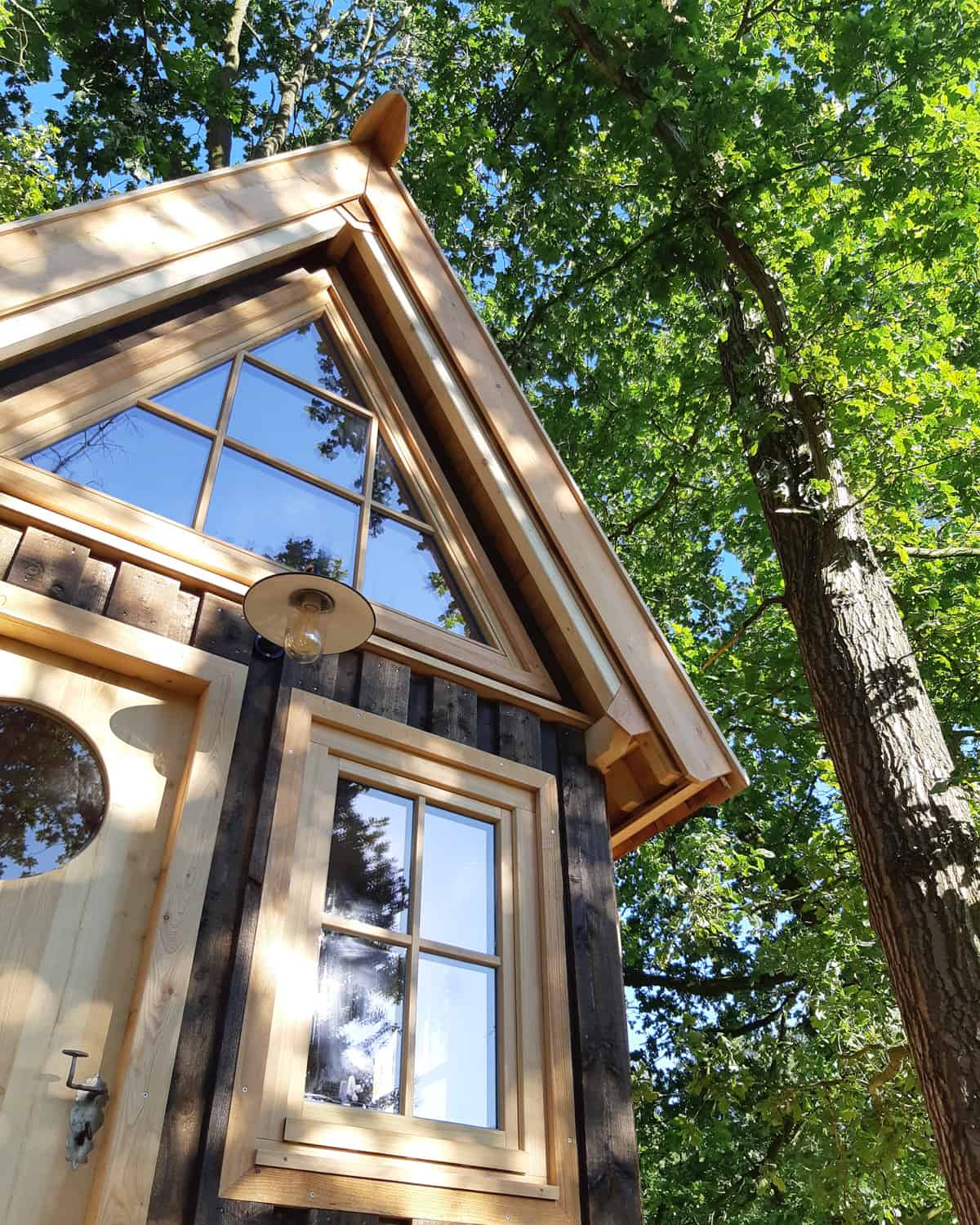 treehouse to live in a beautiful home made by Baumbaron