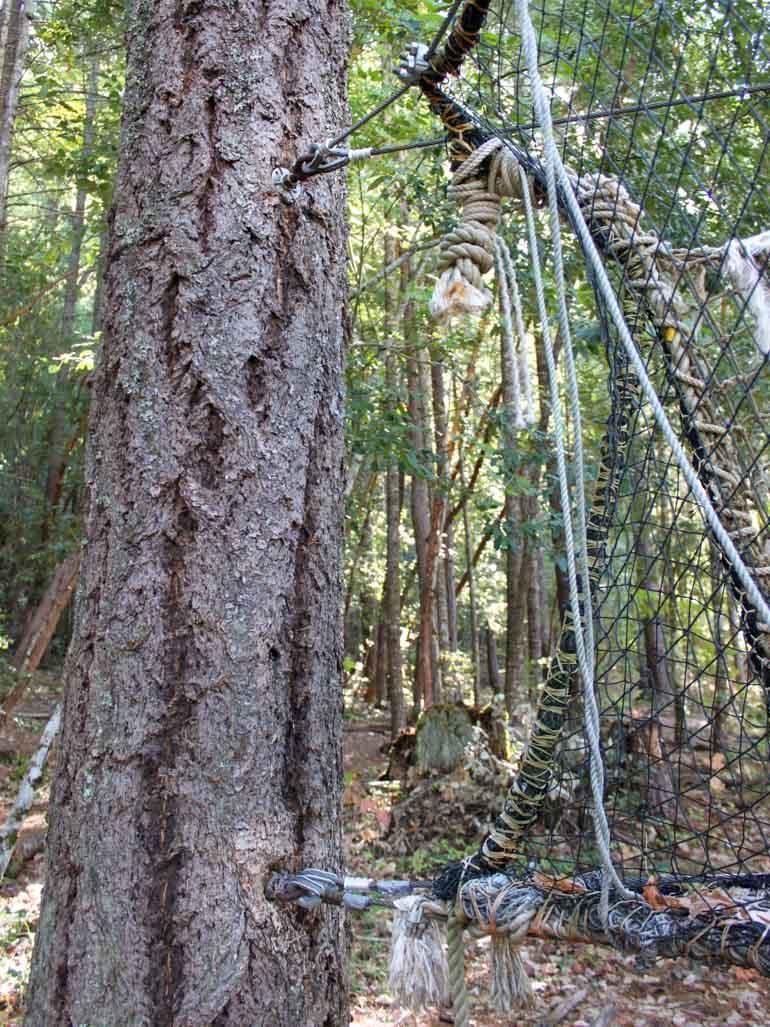 Baum Gewindestange Befestigung
