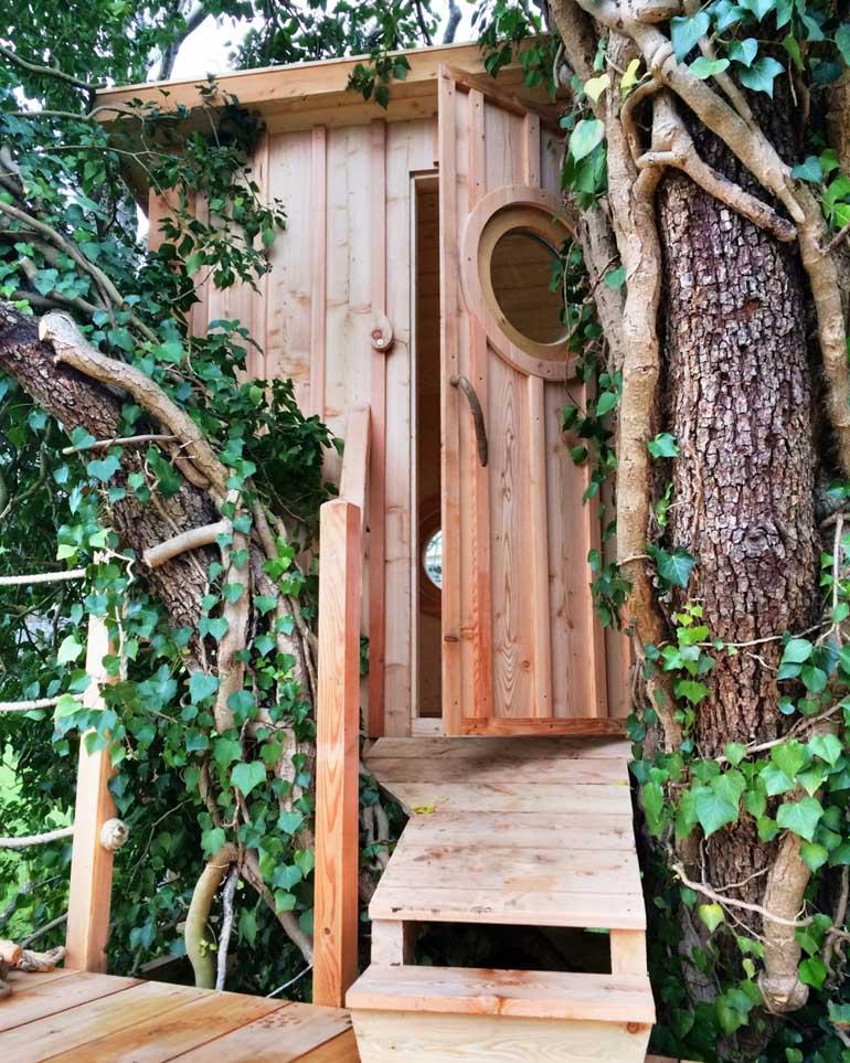 Wunderschönes Baumhaus von Baum umwallt by baumbaron