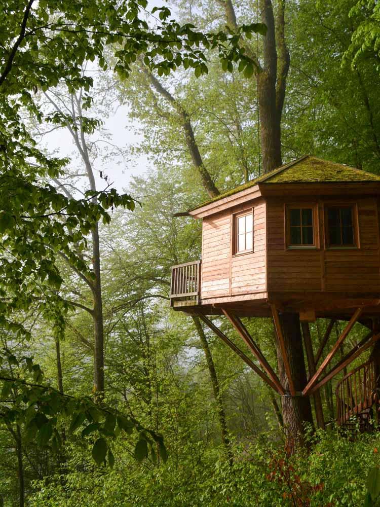 Beispiel großes Baumhaus zum Wohnen Kosten
