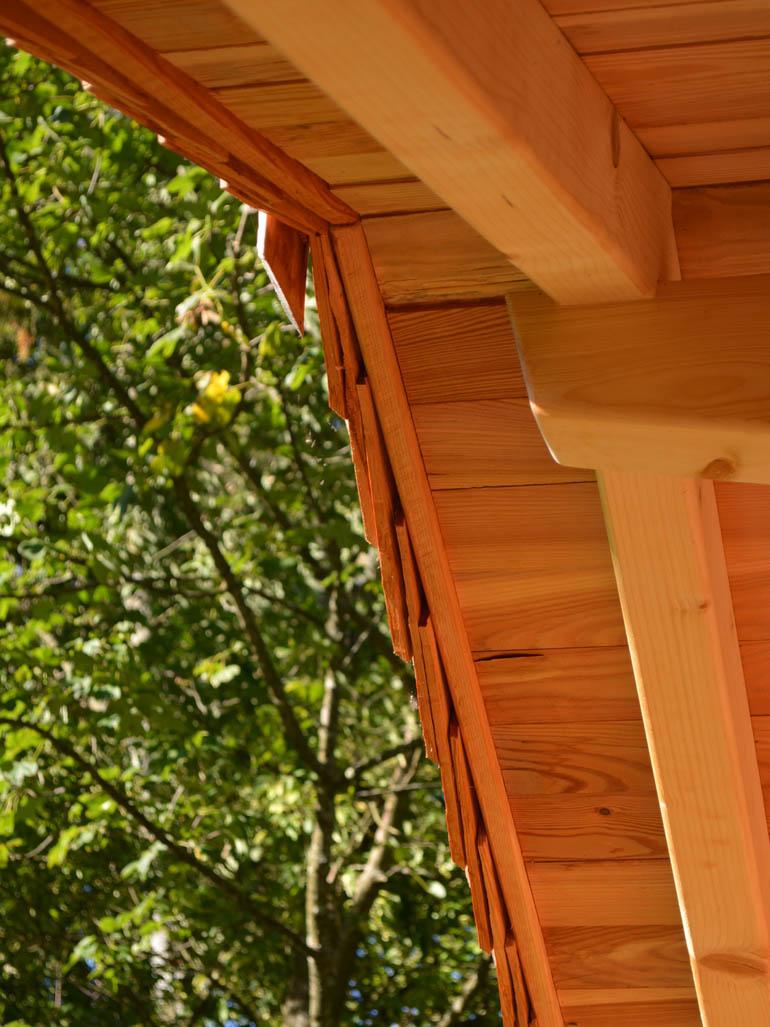 Baumhaus selber bauen Dach