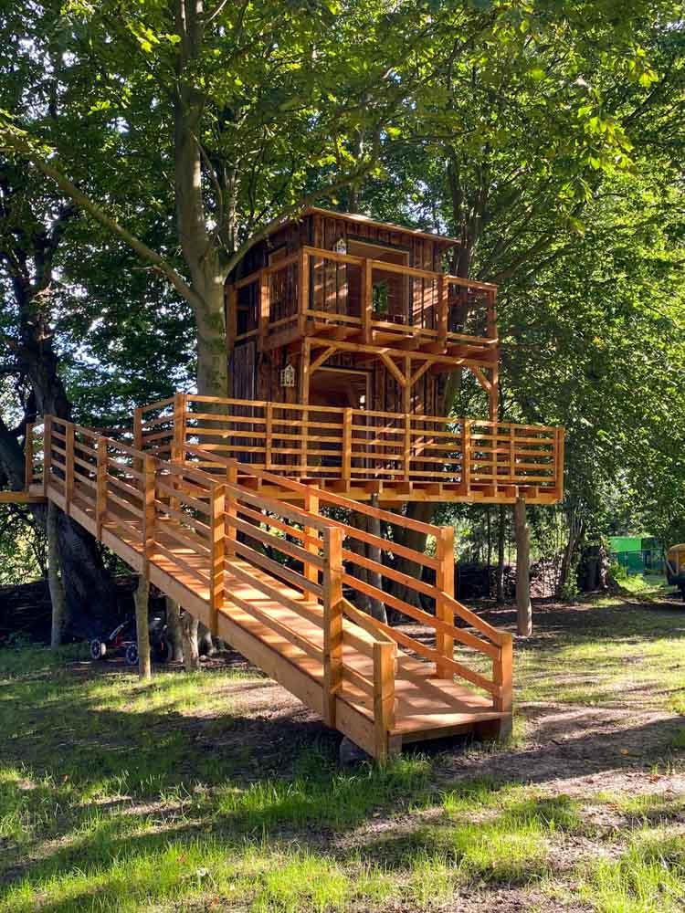 Beispiel Kosten Luxus Stelzen Baumhaus